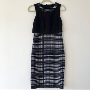 Banana Republic black dress size 2
